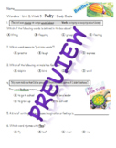 Second Grade Wonders - Unit 2, Week 5 - Study Guide for Poetry