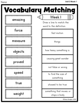 Second Grade Wonders - Unit 3