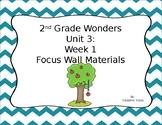 Second Grade Wonders Unit 3: Week 1
