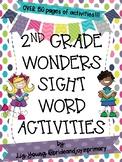 Second Grade Wonders Weekly Sight Word Activities