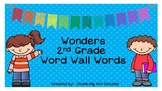 Second Grade Wonders Word Wall Card Set