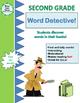 Sight Words, Vowels, Blends, Rhyming Words - Second Grade