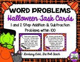Second Grade Word Problems:  Halloween Set