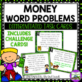 Second Grade Word Problems:  Money Word Problems