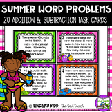 Second Grade Word Problems:  Summer Set