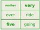 Second Grade Word Study