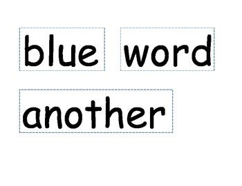 Second Grade Word Wall Bundle (b/w & color versions)