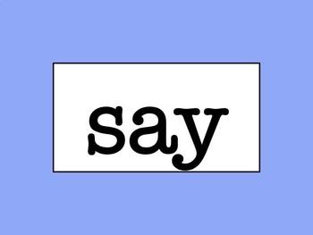 Second Grade Word Wall - No Excuse/Sight Words (Editable)