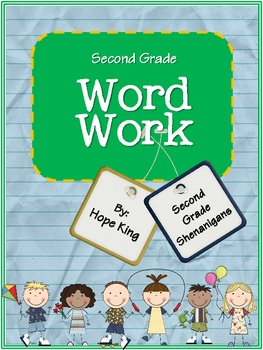 Second Grade Word Work