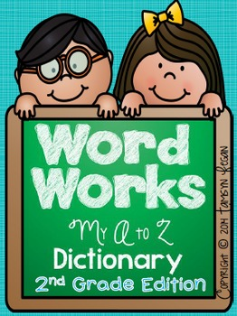 Second Grade Word Work Dictionary