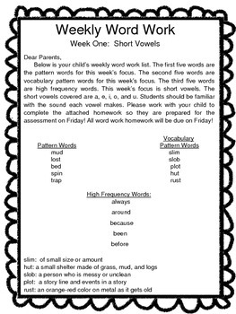 Second Grade Word Work:  Phonic, Vocabulary, and Sight Words