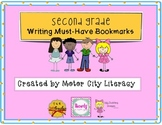 Second Grade Writing Bookmark