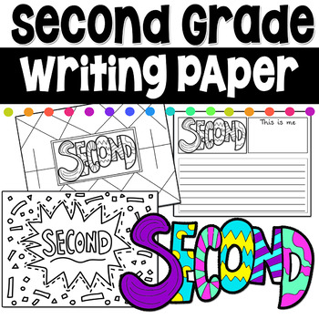 Second Grade Writing Coloring Pages First Day of School