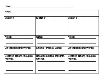 Second Grade Writing Common Core W.2.3