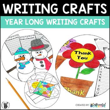 Year Long Writing Crafts Bundle