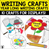 Year Long Writing Crafts Bundle