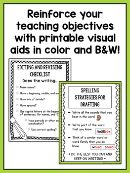 Second Grade Writing Workshop Intro Unit {2nd Grade Writing Workshop Unit 1}
