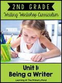 Second Grade Writing Workshop Intro Unit {2nd Grade Writin