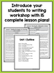 Second Grade Writing Workshop Intro Unit {2nd Grade Writin