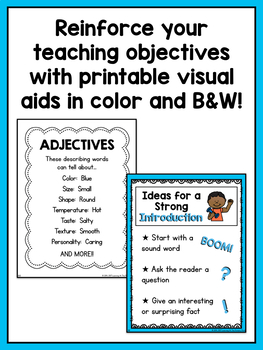 Second Grade Informational Writing Lessons {2nd Grade Writing Workshop Unit 3}