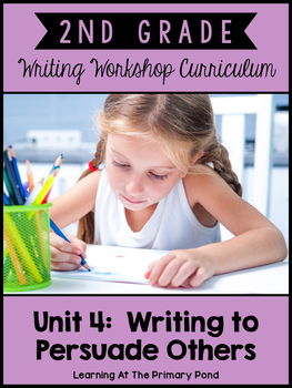 Second Grade Opinion Writing - Reviews & Persuasive Letters {2nd Gr Wtg Unit 4}