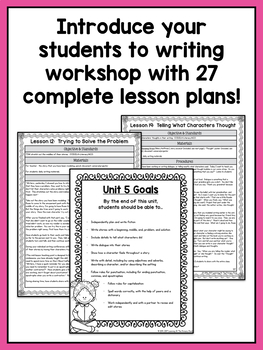 Second Grade Narrative Writing Lessons {2nd Grade Writing Workshop Unit 5}