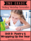 Second Grade Poetry Writing Lessons {2nd Grade Writing Workshop Unit 8}