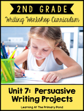 Opinion Writing Lessons for Second Grade {2nd Grade Writing Workshop Unit 7}