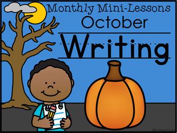 Second Grade Writing Mini-Lessons Bundle