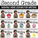 Second Grade Writing Mini-Lessons Bundle