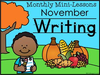 Second Grade Writing Mini-Lessons November