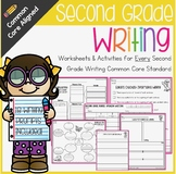 Second Grade Writing No Prep Common Core Packet