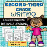 Second-Third Grade Writing Packets - Distance Learning, In