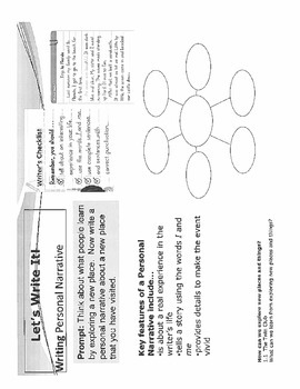 Second Grade Writing Portfolio Reading Street Prompts