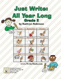 Second Grade Writing Curriculum - Daily Lessons, Spelling, Grammar (Full Year)