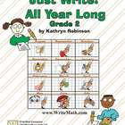 Second Grade Writing Curriculum - Daily Lessons, Spelling,
