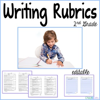 Second Grade Writing Rubrics