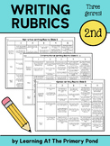 Second Grade Writing Rubrics - Narrative, Informational, and Opinion Genres