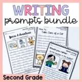 Second Grade Writing Worksheets Prompts Bundle - Opinion,
