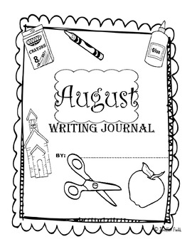 Second Grade Year of Writing Prompt Calendars and Journal Pages (CCS Aligned)