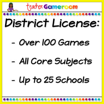 Second Grade Yearly District License