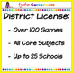 Second Grade Powerpoint Game Bundle - District License