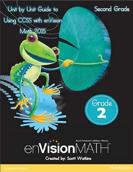 Second Grade enVision Math Unit-by-Unit Common Core Standard Guide