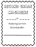 Second Grade end of the year Magazine Memory Book