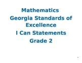 Second Grade Mathematics Georgia Standards of Excellence I