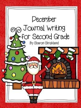 Second Grade Journal Writing for December