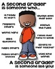 Second Grader Poster - [someone who]