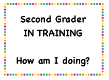 Second Grader in Training Badge
