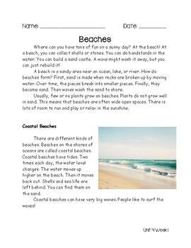 Second Grade Wonders Unit 4 Week 1 Assessment