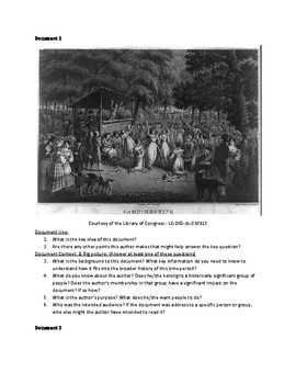 Second Great Awakening (AP US History - 2017-2018 Rubrics)